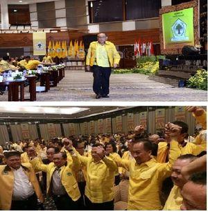 Klaim Didukung 28 DPD I, Kubu Ketiga Golkar Temui Akbar Tandjung
