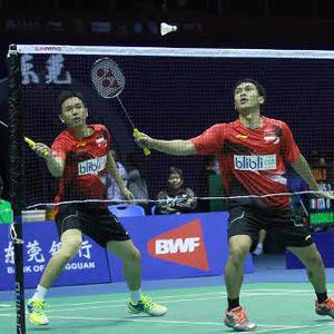 Ahsan/Hendra Menang, Indonesia Unggul 1-0 Atas Taiwan
