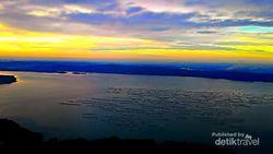 Menikmati Panorama Senja di Gunung Lembu, Purwakarta