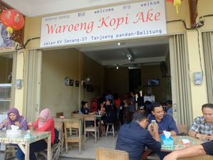 Kedai Kopi Tertua di Belitung, Sejak 1921!