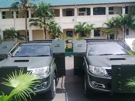 Moeldoko Rancang Mobil Berperisai untuk TNI