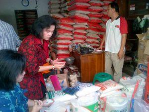 Razia Beras Campur Plastik, Disperindag Semarang Malah Temukan Penjual Raskin