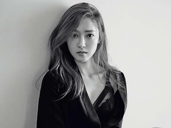 Jessica Jung Seksi dengan Bra Hitam