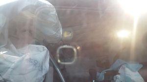 Airbag Tak Mengembang, Setir Mercy Istri Yudi Latif Tidak Terlihat