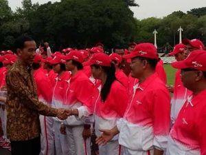 Atlet Lari dan Dayung SEA Games Janjikan 15 Emas, Jokowi: Saya Catat