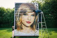 Ketika Wajah Taylor Swift Terbuat dari 35.000 Potongan Lego