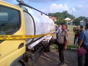 Angkut 24 Ribu Liter Minyak Mentah, Tiga Truk Tangki Diamankan di Semarang