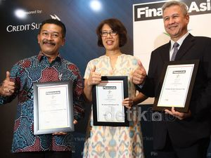 Garuda Raih Asias Best Companies