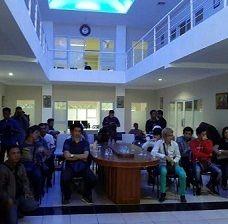 13 WNI yang Disandera Perusahaan Judi di Kamboja Akhirnya Tiba di Riau