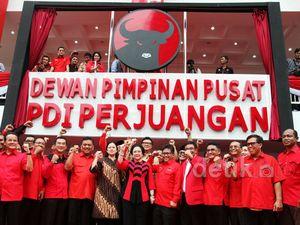 Megawati Resmikan Kantor DPP PDIP