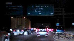 Tol Jagorawi dan Bekasi ke Jakarta Macet 18 KM