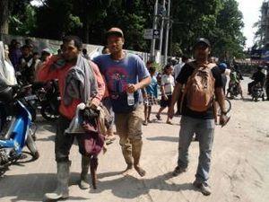 Penyangga Bangunan Patah, Belasan Pekerja di Medan Luka Terkena Reruntuhan