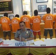 7 Begal Asal Lampung Diringkus Tim Gabungan Pemberantasan Preman