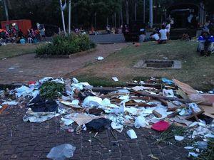 Duh, Banyak Warga yang Masih Tak Disiplin Buang Sampah di Jakarnaval