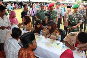 HUT ke-34, Sat-81 Gultor Kopassus Gelar Bhakti Pengobatan di Sukabumi