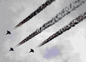 Menikmati Manuver Pesawat Sukhoi dalam Operasi Pengamanan Teror
