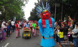 Gegap Gempita Karnaval Ultah Jakarta, Meriah Abis!