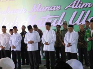 Presiden Jokowi: Saya Harap NU Membantu Melawan Mafia-mafia