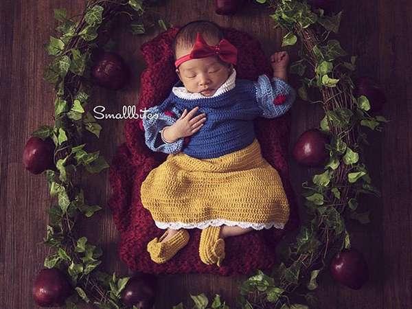 So Cute... Putri Ruben dan Sarwendah Jadi Snow White