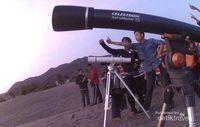 Belajar Mencari Hilal & Ilmu Astronomi di Pantai Parangtritis