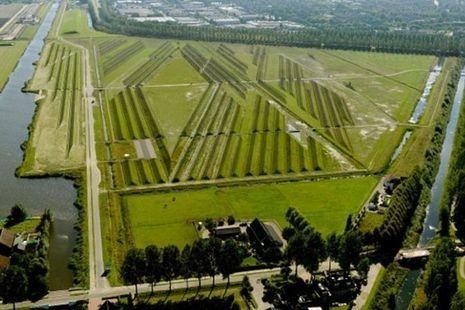 Kecanggihan 'Crop Circle' peredam suara jet di Amsterdam !