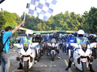 33 Rider Kawasaki Indonesia Touring ke Thailand, Malaysia dan Singapura