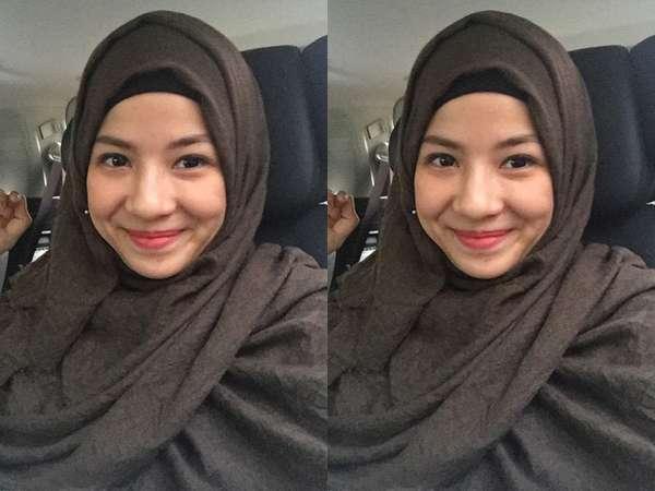 Ramadan, Natasha Rizki Resmi Berhijab
