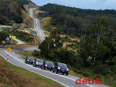 Jalanan di Malaysia Bakal Dilapisi Karet