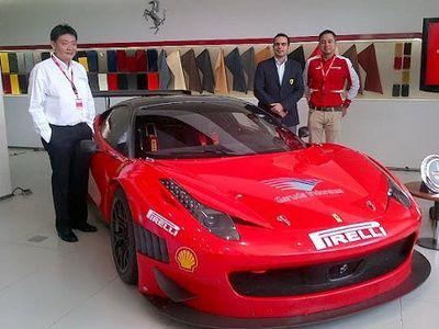 Ferrari Buka Layanan Purna Jual di Surabaya