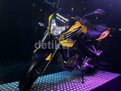 Kawasaki Tidak Pasang Target Tinggi untuk Model Kawasaki Bajaj