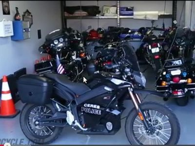 Lebih dari 50 Departemen Kepolisian Amerika Pakai Motor Listrik Zero