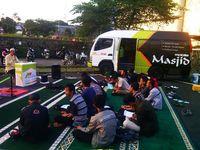 Begini Menu Jemput Bola ala Mobile Masjid di Bandung