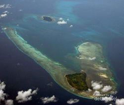 Foto-foto Keindahan Indonesia dari Pesawat