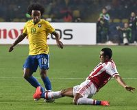 Skill Individu Pemain-pemain Brasil Gagal Taklukkan Paraguay