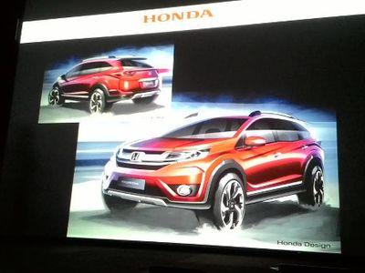 Kenalkan, Crossover Anyar Honda di Indonesia, 7 Penumpang!