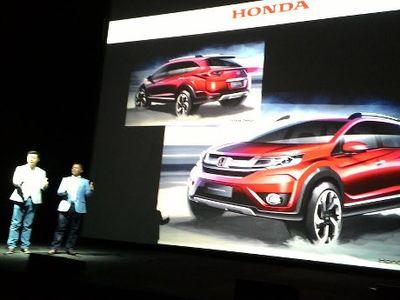 Crossover Anyar Honda Namanya BR-V