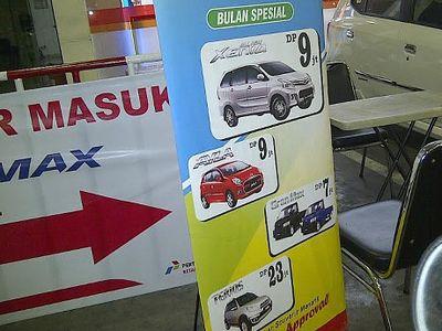 Daihatsu: Tidak Ada DP Mobil Sampai Rp 7 Juta