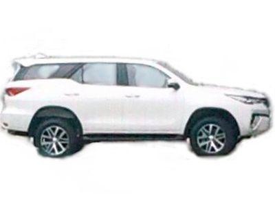 Inikah Tampang Asli Toyota Fortuner Versi Terbaru?