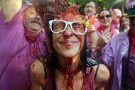 Seksi! Begini Meriahnya Festival Perang Anggur di Spanyol