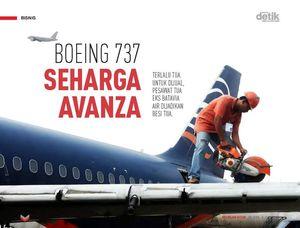 Boeing 737 Seharga Avanza