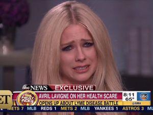 Curhat Soal Penyakit yang Diderita, Avril Lavigne Menangis