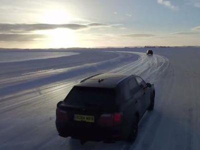 Pengujian Terakhir SUV Bentley Bentayga di Musim Dingin