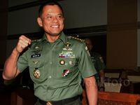 Jenderal Gatot Jalani Ujian Calon Panglima TNI