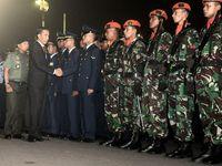 Jokowi Lepas 16 Jenazah Korban Hercules di Halim
