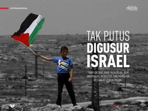 Tak Putus Digusur Israel