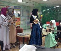 8 Finalis Sunsilk Hijab Hunt Unjuk Bakat di Kantor Detikcom