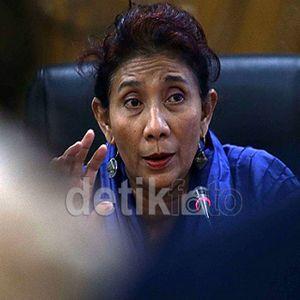 Lihat Video Korban Perbudakan, Menteri Susi Menepuk-nepuk Dada