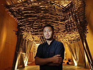 15 Ribu Batang Bambu Tengah Dikirim Lewat Laut dari Semarang ke Frankfurt