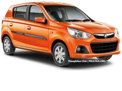 Inikah Suzuki Celerio Versi Proton?