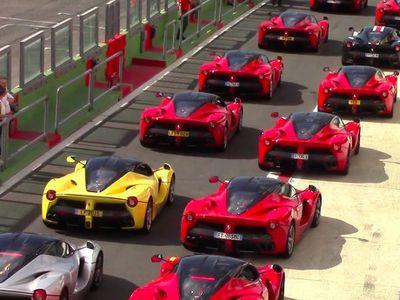 Seperti Ini Jika Hypercar Termahal dan Terganas Ferrari Berkumpul